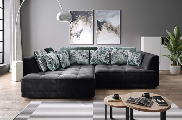 """Ecksofa """"Arezzo"""" Big Sofa mit XXL-Sitz- und Liegefläche"""