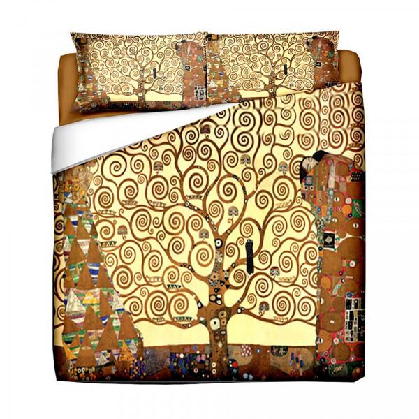 Bettwäsche-Set 40x80 / 135x200 GUSTAV KLIMT Lebensbaum
